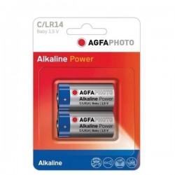 BATERIE AGFA ALKALINA TIP C/LRI14-2/BLISTER