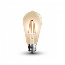BEC LED ST64 E27 6W FILAMENT 2200K MOD EDISON SKU 4362