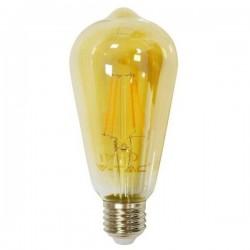 BEC LED ST64 E27 4W FILAMENT 2200K M EDISON SKU 4361