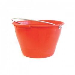 GALEATA PLASTIC GALBEN/ROSU 34 CM