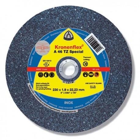 DISC ABRAZIV PENTRU DEBITARE INOX A46 TZ - 180 X 1,6 MM