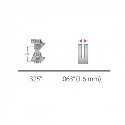 DINTE LANT 325 1,6 MM