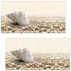 DECOR SARDINIA PEBBLES 5 WHITE 30 X 60 CM