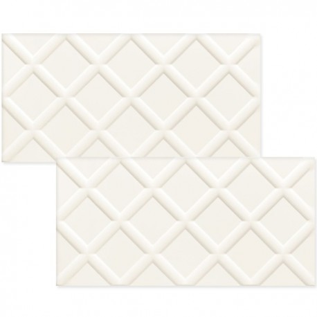 FAIANTA BURANO WHITE STR 30.8 X 60.8 CM
