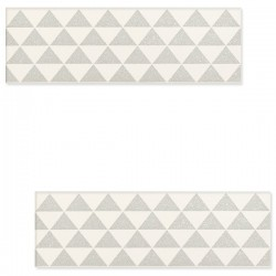 DECOR BURANO BAR WHITE B 7.8 X 23.7 CM