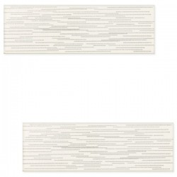 DECOR BURANO BAR WHITE D 7.8 X 23.7 CM