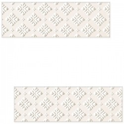DECOR BLANCA BAR WHITE A 7.8 X 23.7 CM
