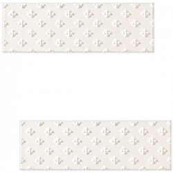DECOR BLANCA BAR WHITE B 7.8 X 23.7 CM
