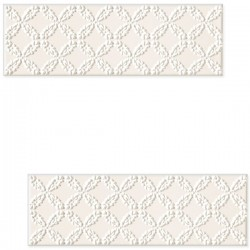 DECOR BLANCA BAR WHITE C 7.8 X 23.7 CM