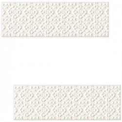 DECOR BLANCA BAR WHITE E 7.8 X 23.7 CM