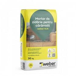 MORTAR PENTRU CARAMIDA WEBER KL15 - 30KG