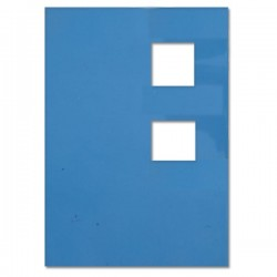 DECOR ADRENALINA BLUE 4.8 X 4.8 CM