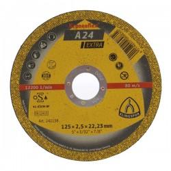 DISC DEBITARE METAL 125 X 1.6 X 22 MM
