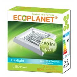 LED PANEL PATRAT 6W 6500K ECO 0085