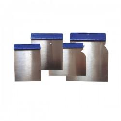 SET SPATULE METALICE CU MANER PLASTIC - 4 P  01625