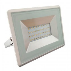REFLECTOR LED SMD 30W 6500K IP65 ALB