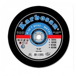 DISC KARBOSAN DEBITARE METAL 125 X 1.6 X 22 MM
