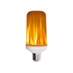 BEC LED 3 IN 1 CU EFECT DE FLACARA SMG LF 5 / 27