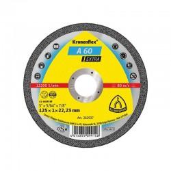 DISC KLINGSPOR PENTRU DEBITAT METALE A 46 125 X 1.6 MM KT25423