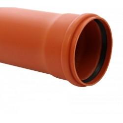 TUB PVC 110 SN4 L 1M