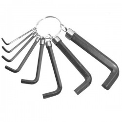 SET 8 CHEI HEXAGONALE CALITE LUMYTOOLS
