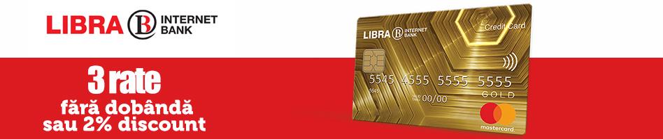 Finantare rate fara dobanda Libra Enjoy